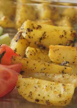 Картофель запеченный в духовке. Очень Вкусный Картофельный Гарнир