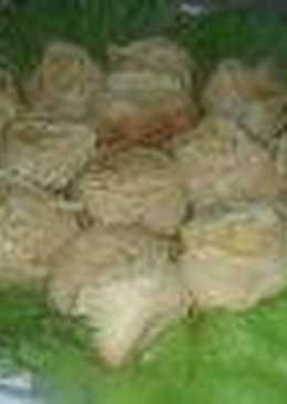 Жареные манты с картофелем и рубленым мясом