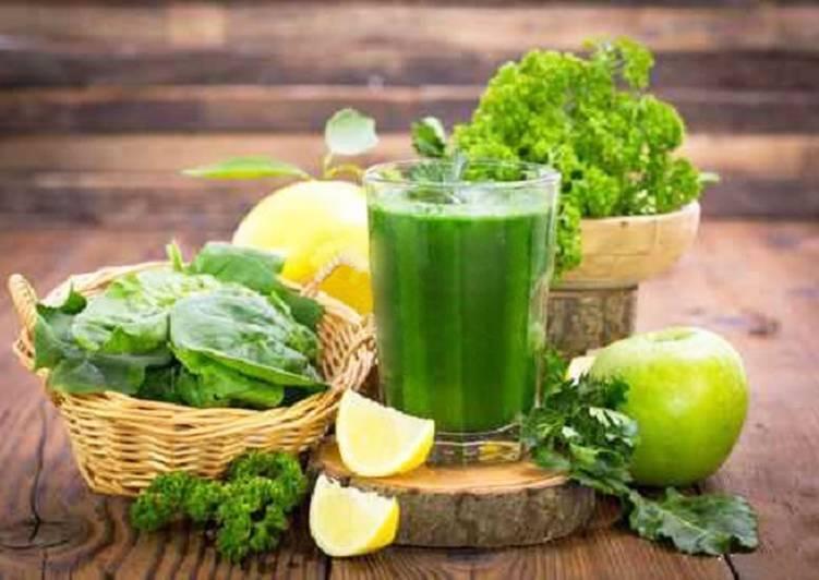 Витаминный смузи за 2 минуты - Зелёный коктейль для здоровья и красоты