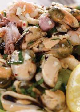 Маринованные морепродукты