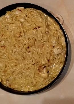 Мясная подлива со спагетти (Очень вкусная)
