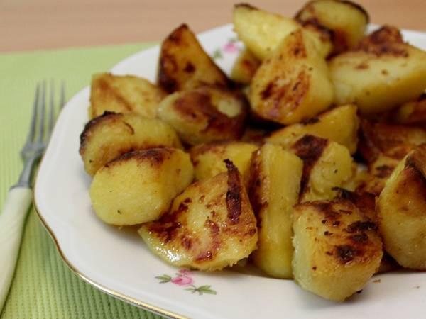 Секрет хрустящей запеченной картошки!