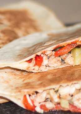 Кармашки с курицей на завтрак – закрытые пиццы #чемпионатмира