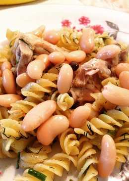 Макароны с курицей и фасолью#чемпионатмира#бразилия