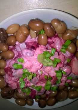 Базовый рецепт зимнего салата. Добавите новый ингредиент и получите новый салат!