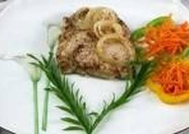 Мясо по-запорожски