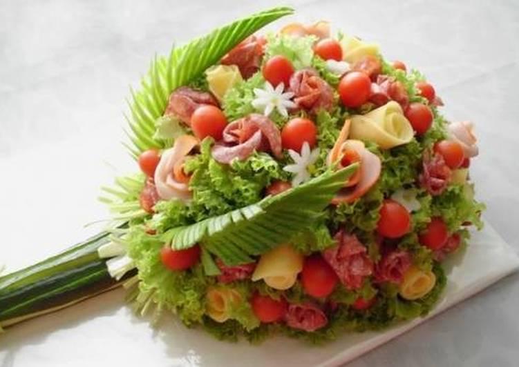 Салат праздничный «Букет» - рецепт с фото