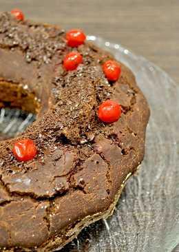 Шоколадный ПП - кекс С вишней