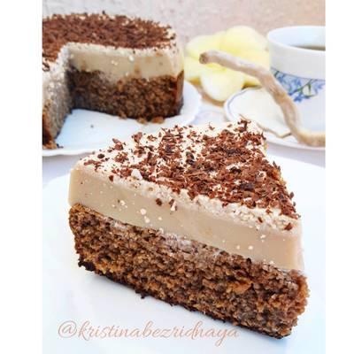 Кофейно-шоколадный торт ПП