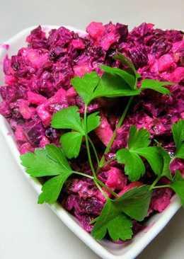 Вкуснейший салат из чернослива и свеклы. Простой Новогодний рецепт