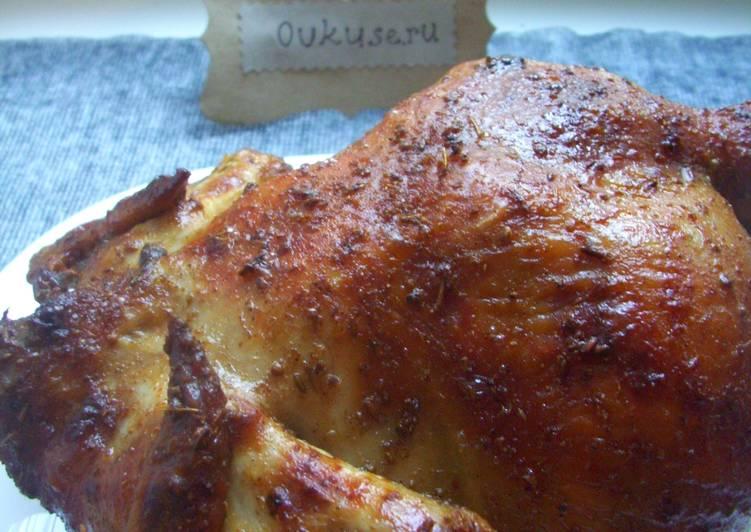 Домашняя курица-гриль