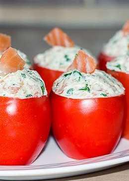 Фаршированные помидоры - праздничная закуска