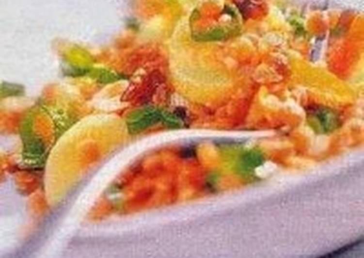 Салат картофельный с грибами и орехами