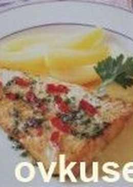 Тушеная в молоке рыба