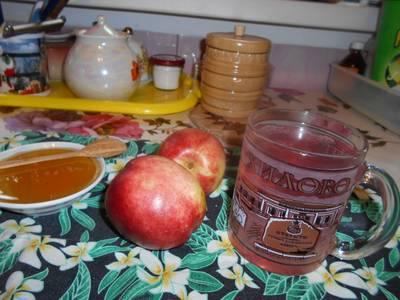 Компот с яблоками и с малиной #спас