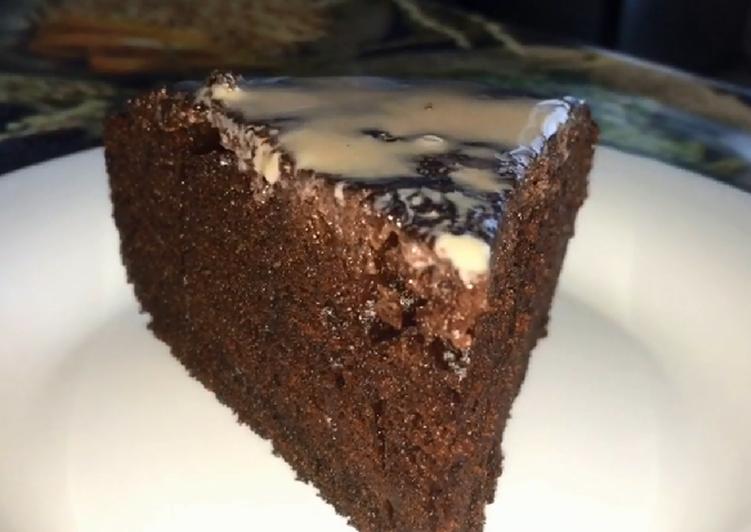 Шоколадный пирог в мультиварке