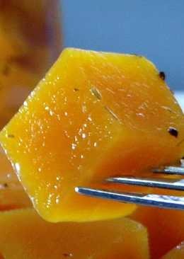 Маринованная ТЫКВА! вкусная ЗАКУСКА! Pickled pumpkin