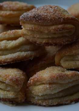 """Творожное печенье """"Поцелуйчики"""" с кокосовой стружкой"""
