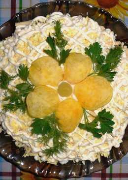 Салат «ОРХИДЕЯ» на праздничный стол
