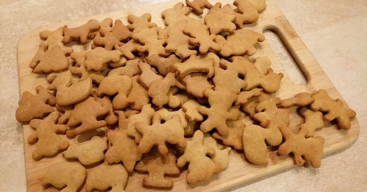 Легкий рецепт имбирного печенья