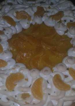 Пай с мандаринами