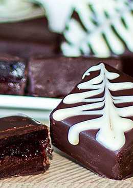 Фруктовые мармеладные конфеты с шоколадом