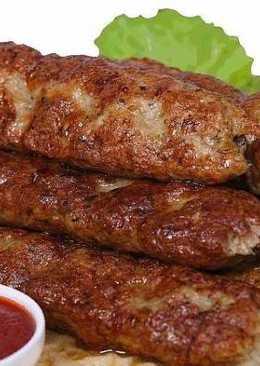 Люля-кебаб (лёгкий рецепт, быстро и вкусно)