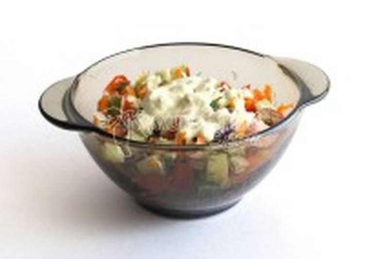 Салат «Овощная палитра»