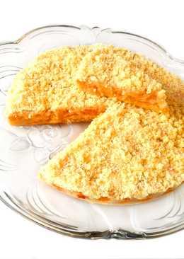 Пирог с абрикосами – наипростейший рецепт