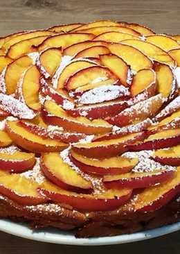 Пирог с нектаринами (персиками)