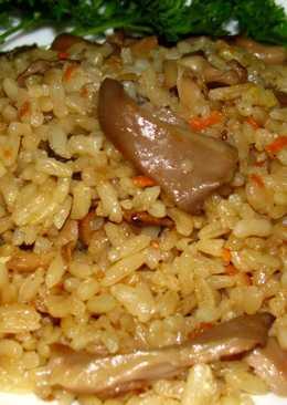 Плов с грибами, рецепт с фото