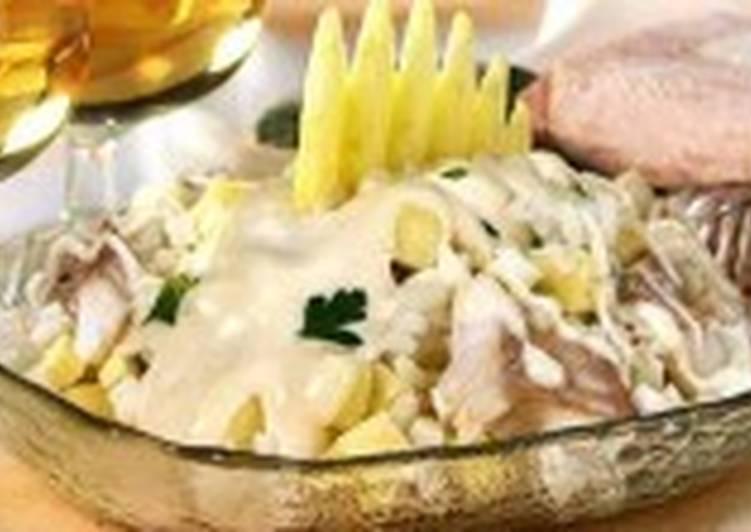 Салат рыбный по-шотландски