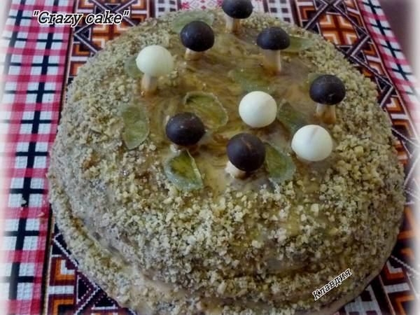 Шоколадный тортик к празднику