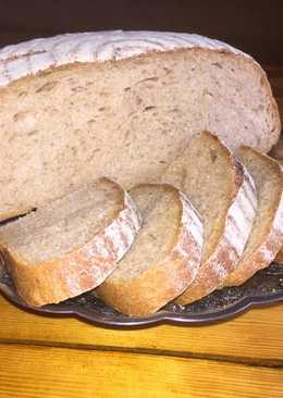 Хлеб серый на закваске