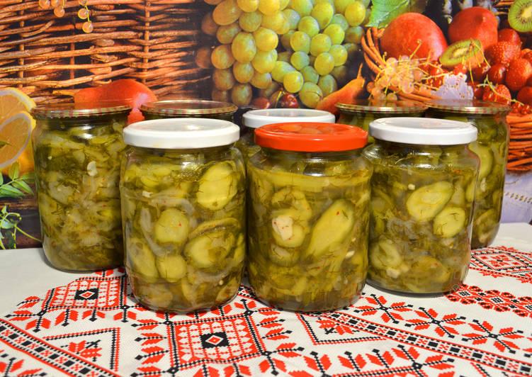 Салат из огурцов и сладкого перца, заготовки на зиму! Домашнее консервирование, простые рецепты