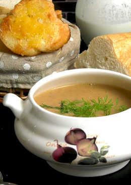 Крем-суп с каштанами 🌰🥣