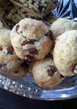 Быстрые бисквитные печеньки