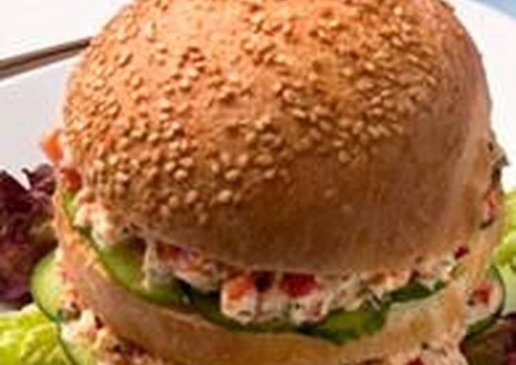 """Рецепт сэндвича """"Розовый кадиллак"""""""