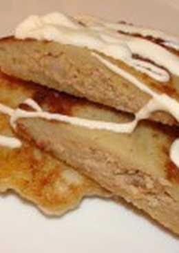 Блины с картофелем и мясом