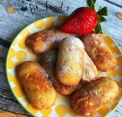 Лимонное ароматное печенье ⠀