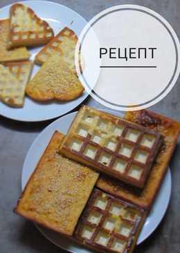 Сырники с яблоками и кунжутом из духовки
