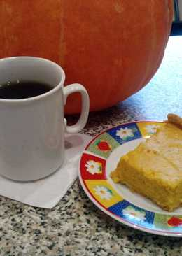 Американский пирог с тыквой Хеллоуин
