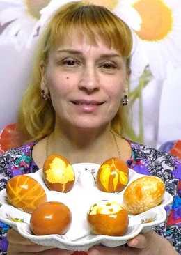 Пасхальные яйца - мастер класс как покрасить яйца на пасху своими руками в луковой шелухе