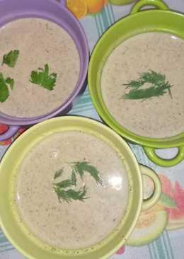 Сырно-грибной крем-суп