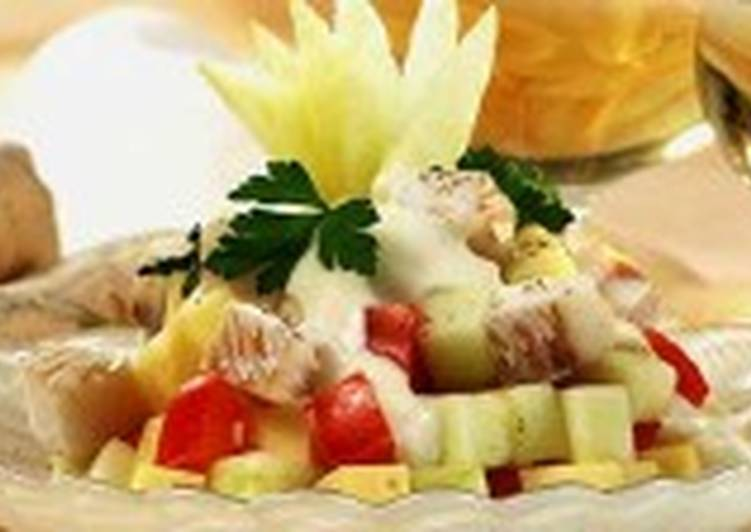 Салат рыбный «Праздничный»