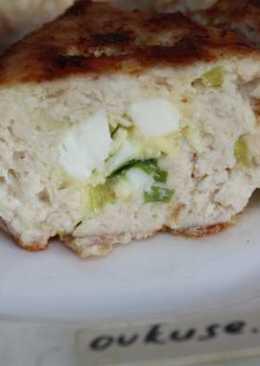 Котлеты с начинкой из яиц и сыра