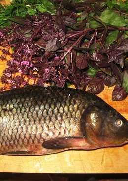 Жареная рыба с кинзой и чесноком (блюдо бухарских евреев)