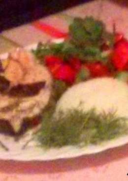 Скумбрия,запеченная в рукаве с овощами!Попробуйте-очень вкусно и питательно