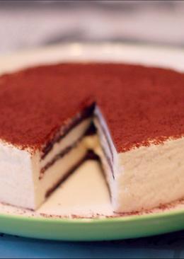 Торт тирамису без яиц