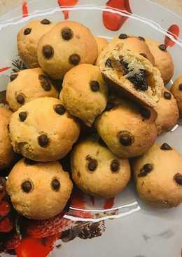 Печенье с курагой и черносливом